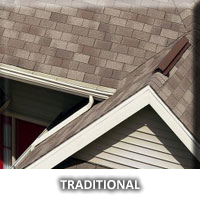 traditional roof shingles